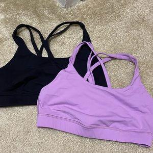 Lululemon unworn sports bras- two bras